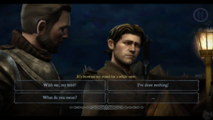 Screenshot - Telltale Games' Game of Thrones Dialogue Choices